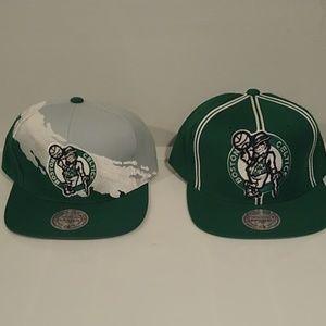 New Era Accessories - Boston Celtics Snapback Mitchell & Ness Hats caps